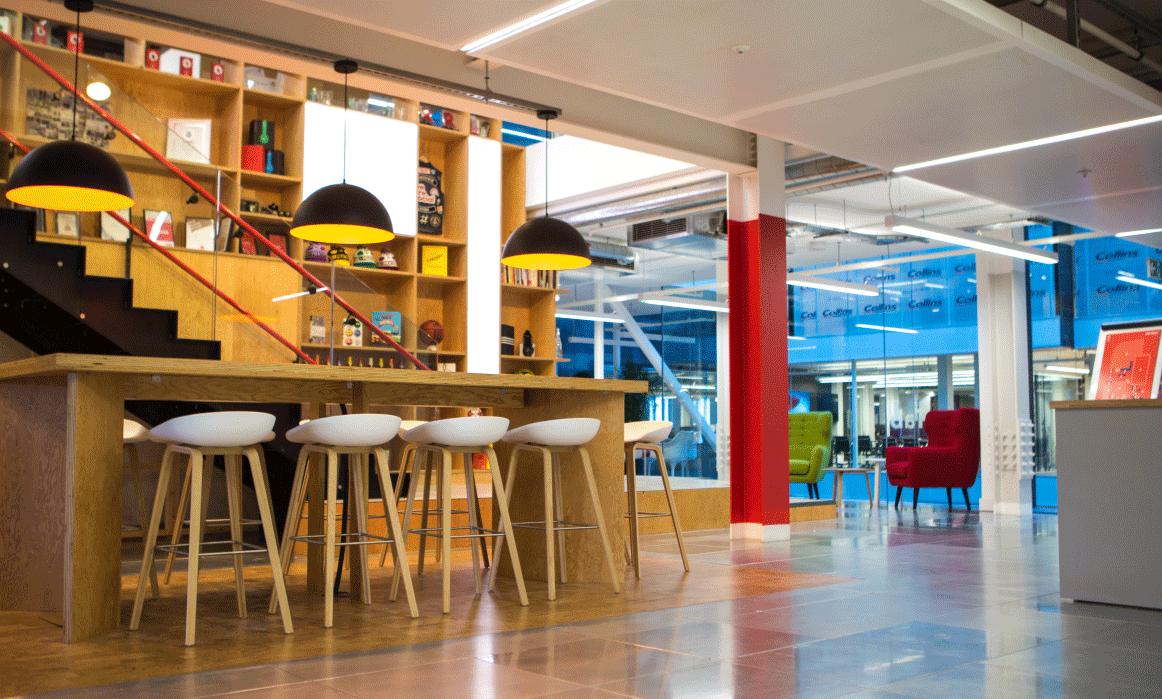 Office branding empowering the brand culture prodeca for Oficinas seguridad social barcelona horarios