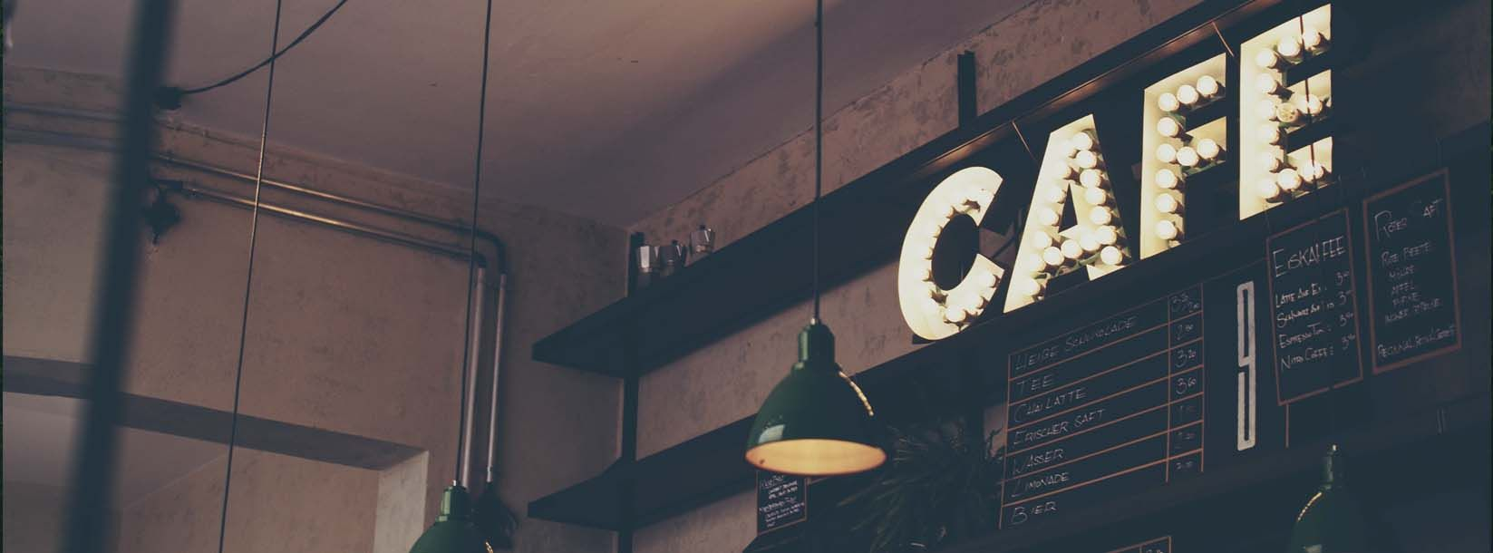 Interior design for restaurants, 100% concept